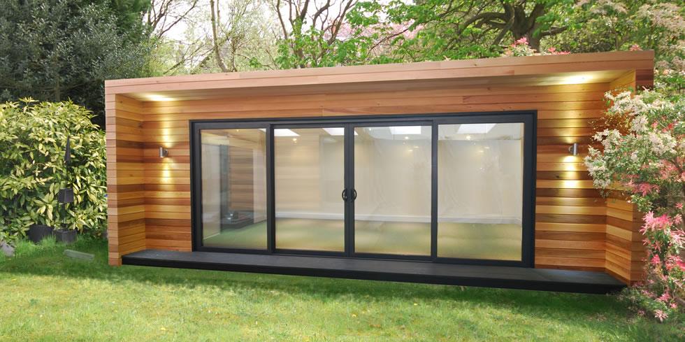 Inspired garden rooms for Outdoor studio rooms